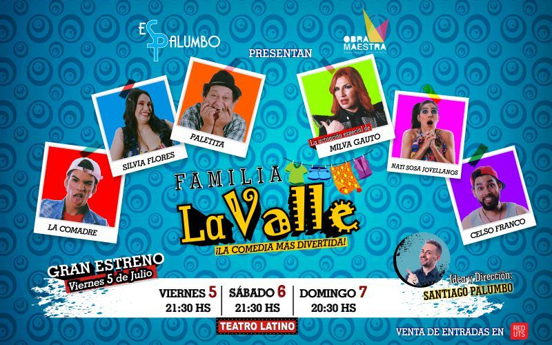 Familia Lavalle , la comedia mas desopilante del Paraguay